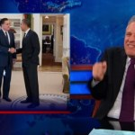 Jon Stewart on Mitt Romney's White House Lunch Date: VIDEO
