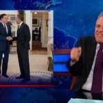 Jon Stewart on Mitt Romney's White House Lunch Date: VIDEO