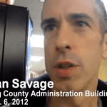 Watch Dan Savage Talk About Getting His Marriage License: VIDEO