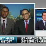 Thomas Roberts Interviews First Gay Male Couple Featured in JET Magazine's Wedding Announcements: VIDEO