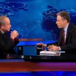 Jon Stewart Interviews Gay Episcopal Bishop Gene Robinson: VIDEO