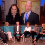 Anderson Cooper Talks Coming Out, Temporary Blindness On 'The View': VIDEO