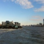 Spire of World Trade Center Arrives in Manhattan by Barge: PHOTO
