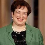 Kagan Praises Scalia, Says Wisdom Required in 'Disruptive' Cases