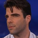 Zachary Quinto Flashes His 'Serial Killer Eyebrows' on Conan: VIDEO