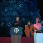 Neil Patrick Harris and the Obamas Light the National Christmas Tree: VIDEO
