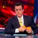 Stephen Colbert Applauds the Orange-Squeezing Technique for Curing Homosexuality: VIDEO