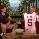 Vikings Punter Chris Kluwe Talks About His Marriage Equality Advocacy on Ellen: VIDEO
