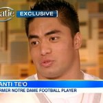 Manti Te'o Tells Katie Couric He Lied, Briefly: VIDEO