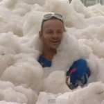 Australian Town Overrun with Sea Foam: VIDEO