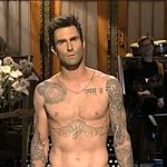 Adam Levine Persuaded to Lose Shirt in SNL Opener: VIDEO