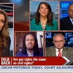 CNN Debates Whether the Gay Rights Movement is the Same as The Civil Rights Movement: VIDEO