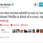 'The Onion' Called Quvenzhané Wallis the 'C' Word