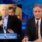 Jon Stewart Demolishes 'Hypocrite' John McCain and His 'Junior High School-Level Pettiness': VIDEO