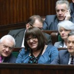 Poland: In Protest of Lech Walesa, Gay and Trans Lawmakers Take Front Bench in Parliament – PHOTO