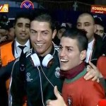 Cristiano Ronaldo Meets His Turkish Impersonator and #1 Fan: VIDEO