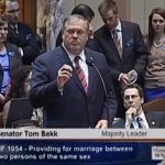 MN Senator Tom Bakk Gives Powerful, Moving Testimony About Gay Priest Who Married Him: VIDEO