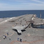 Navy Launches Unmanned Drone from Aircraft Carrier: VIDEO