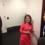 Michele Bachmann Wearing Google Glass: PHOTO
