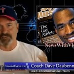 Right-Wing Blowhard 'Coach Dave' Outraged at Obama for Phoning Up That Sodomite Jason Collins: VIDEO