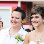 Lesbian Couple Married Across the Street from Westboro Baptist Church: VIDEO