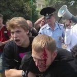 Blood Drawn in Major Clash at St. Petersburg, Russia Gay Rights Rally; Dozens Arrested — VIDEO