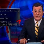 Stephen Colbert Rips KTVU for Misreporting on the Asiana Pilots: VIDEO
