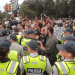 Anti-Gay Demonstrators Protest Lithuanian Pride Parade: Video