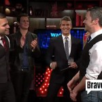 Andy Cohen Performs Gay Wedding with Jonathan Groff and Tamar Braxton as Witnesses: VIDEO