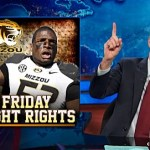 Jon Stewart Celebrates Michael Sam's Coming Out: VIDEO