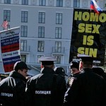 Anti-Gay Demonstrators Protest in Sochi: VIDEO