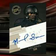 Michael Sam Signs Autograph Deals with Five Trading Card Companies: VIDEO