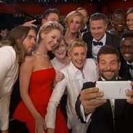 Ellen Takes an Oscar Group Selfie: VIDEO