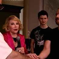 Joan Rivers Officiates at Snap Wedding Ceremony for Gay Couple: VIDEO
