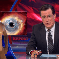 Stephen Colbert Can't Wait Till Neil deGrasse Tyson and the Rest of Television 'Go Naked' – VIDEO