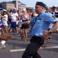 Check Out This Swedish Cop Unleashing Some Impressive Dance Moves at Stockholm Pride: VIDEO