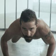 Shia LaBeouf Gets Cagey In Sia's New Music Video 'Elastic Heart' – VIDEO