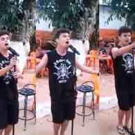 Brazilian Boy is Whitney Houston Reincarnated