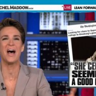 Rachel Maddow: Does RBG's 'Good Mood' Hint How SCOTUS Will Rule on Gay Marriage? – WATCH