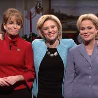SNL Presents 'A Hillary Christmas' with Amy Poehler and Tina Fey: WATCH