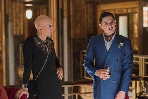 American Horror Story Hotel's Liz Taylor and James Patrick March