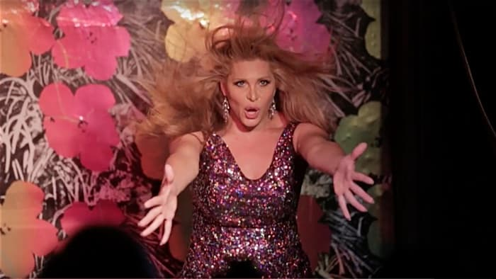 Candis Cayne gay bar Barracuda