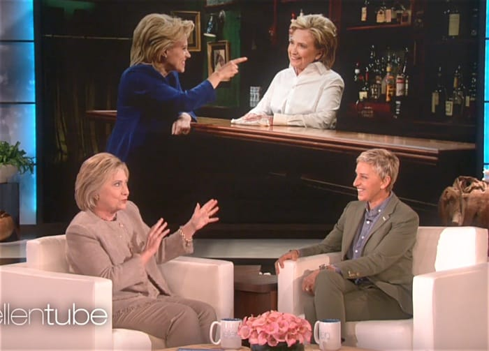 Hillary Clinton on Ellen