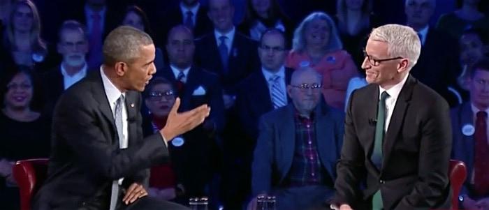 Obama Anderson Cooper