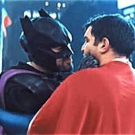 batman superman make out