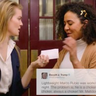 Mean Girls read Donald Trump tweets