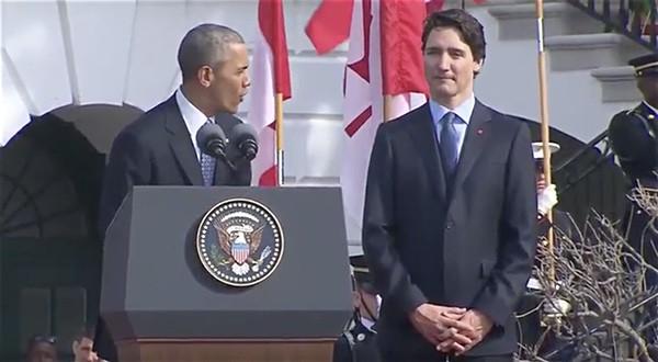 Barack Obama Justin Trudeau