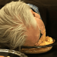 Glenn Beck Mocks Trump By Smashing His Face in Bowl of Crushed Cheetos – WATCH