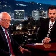 Bernie Sanders Jimmy Kimmel