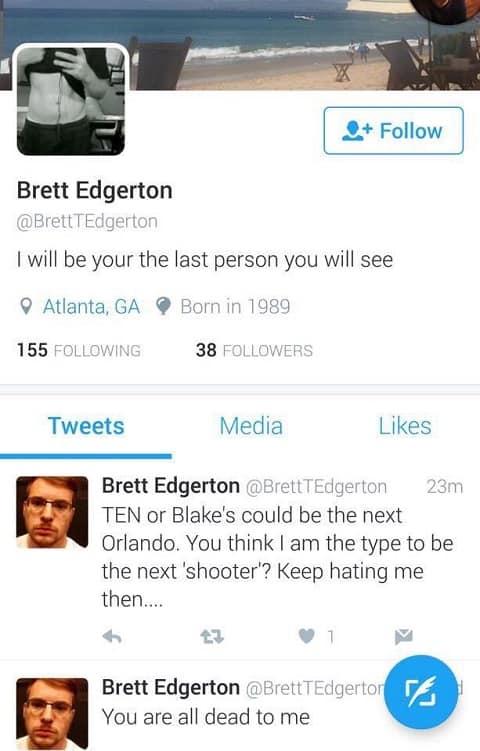 Brett Edgerton Atlanta Georgia Tweets